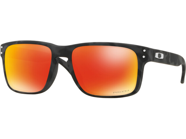 Oakley Holbrook Sunglasses Black Camo/Prizm Ruby